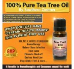 Pure Tea Tree Oil – Best 100% Melaleuca Alternifolia Australian Essential Oil with Antifungal, Antibacterial & Antimicrobial Properties. Use for Antiseptic, Acne Treatment, Aromatherapy, Minor Burns, Cold Sores, Cleaner Disinfectant, Dandruff, Dry Hair Scalp or Skin, Athletes Foot, Head Lice, Nail & Toenail Fungus, Scabies, Skin Tags, Ringworm & more. Add to soap, spray, cream, lotion, shampoo, face mask, body wash, shaving cream, after shave, facial cleanser, etc. This perfectly pure scented oil mixes well with Eucalyptus, Lavender & Peppermint Oils. Includes a dropper. Free Tea Tree Essential Oils Guide.
