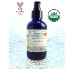 The Argan Tree Company, Argan Oil 4 oz Bottle Luxury Size, Highest Quality Grade 100% Pure Organic USDA Certified *Best Uses: Anti-Aging Moisturizer for Dry Sensitive Skin & Hands, Neck & Face Primer under Makeup, Serum for Acne & Scars & Wrinkles Treatment, Natural Body Massage Oil, Softening Cuticles & Chapped Lips, Moroccan Hair Shine & Healthier Scalp & Growth, Purifying & Moisturizing for You