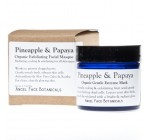 Pineapple and Papaya Organic Gentle Exfoliating Enzyme Mask for All Skin Types 1.2 Oz