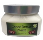 Cocoa Butter + Shea Butter Body Cream 6oz- Great For Stretch Marks, Anti-Aging, Wrinkles, Dark Circles, Cracked Skin, Nourishes+Soothes For Fresh Skin. No Chemicals-Ultra Moisturizing Nutritious Body Butter Including Avocado,Grape Seed,Olive Oil And Aloe Vera. FREE LIP BALM