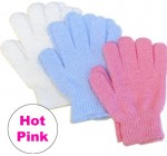 Aquasentials Exfoliating Bath Gloves (2 pairs)