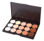 15 Color Professionl Makeup Eyeshadow Camouflage Facial Concealer Neutral Palette