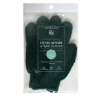 Earth Therapeutics Hydro Exfoliating Gloves, Green, 1 pair (Pack of 4)