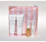 Mary Kay Timewise Travel Size Miracle Set For All Skin Types ~ Mini Day and Night Solution Timewise 3 in 1 Cleanser Age Fighting Moisturizer w Sunscreen Pink Cosmetic Tote Gift Bag Skin Refreshing Microdermabrasion Exfoliating