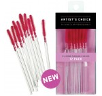 Artist's Choice Silicone Mascara Wands 12 Pk