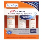 AcneFree Clear Skin System, 3-Step Kit (Purifying Cleanser, Renewing Toner, Repair Lotion) Reviews