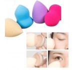 Pro Beauty Makeup Sponge Blender Flawless Smooth Shaped Water Droplets Glass Sponges Soft Puff AOSTEK(TM)