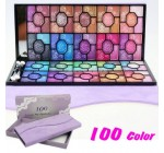 New Rose Beauty Shimmer 100 Colors Eyeshadow Palette Kits