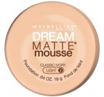 Maybelline New York Dream Matte Mousse Foundation, Classic Ivory, 0.64 Ounce