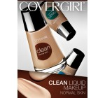 CoverGirl Clean Liquid Makeup, Natural Beige (N) 140, 1.0-Ounce Bottles (Pack of 2)