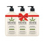 Hempz Age Defying Herbal Body Moisturizer 17 fl oz (3 pack)