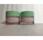 Lot of 2 Clinique Moisture Surge Intense Skin Fortifying Hydrator Gel-cream 0.5oz / 15ml Travel Size Total 1oz / 30ml