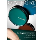 CoverGirl Clean Sensitive Skin Pressed Powder Ivory (N) 205, 0.35-Ounce Pan (Pack of 2)