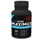 Naturo Nitro Maximus NO2 Nitric Oxide Tablets – High Potency NO Booster and L-arginine Supplement – Allows You to Build Muscle Faster, Workout and Train Longer and Harder – 60 Tablets