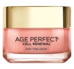 L'Oreal Paris Skin Care Age Perfect Cell Renewal Rosy Tone Moisturizer, 1.7 Ounce