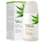 Retinol Moisturizer Anti Aging Cream – Anti Wrinkle Lotion – Face & Neck- Helps Reduce Appearance of Wrinkles, Crows Feet, Circles & Fine Lines – With Vitamin C Hyaluronic Acid – InstaNatural – 3.4 OZ