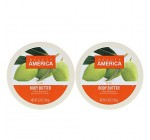 Beauty America Intense Moisturizing Body Butter With Olive Oil & Vitamin E, 2 pack