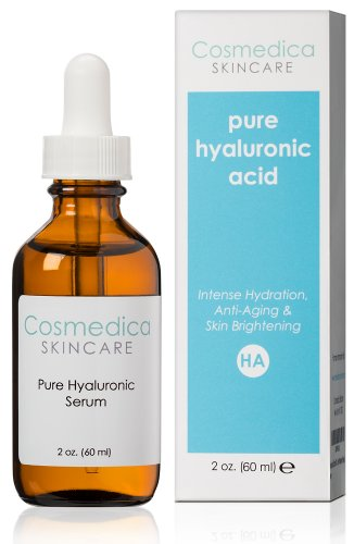 Best-Selling Hyaluronic Acid Serum 100% Pure- Intense Hydration + Moisture, Non-greasy, Paraben-free Hyaluronic Acid for Skin (2 oz./ Professional Formula)