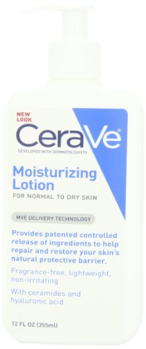 CeraVe Moisturizing Lotion, 12-Ounce Bottle