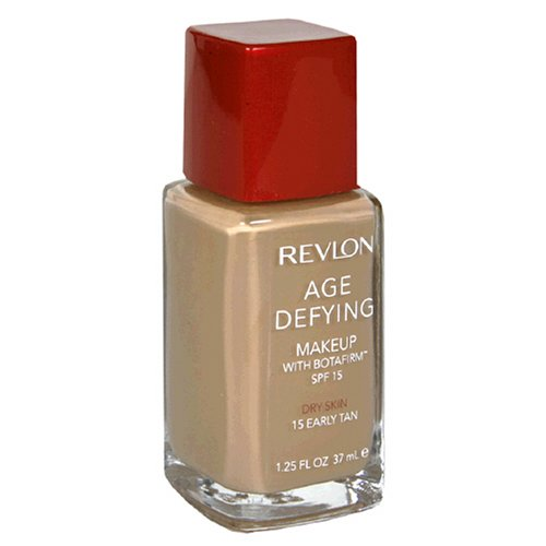 Revlon Age Defying Makeup with Botafirm, SPF 15, Dry Skin, Early Tan 15, 1.25 Ounce Reviews
