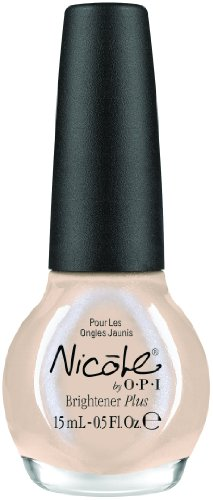 Nicole by OPI Nail Treatment, Brightener Plus, 0.5 Fluid Ounce