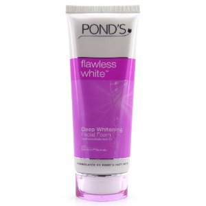 Skin whitening face clean Pond's Flawless White Deep facial cleaner skin bright foam cleansing Whitening Facial Foam 100 g