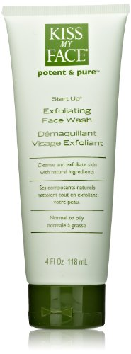 Kiss My Face Organics  Start Up Exfoliating Face Wash, 4-Ounce Tubes (Pack of 3) Reviews