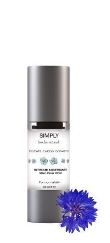Foundation Primer – Paraben Free – Ultimate Undercover – Silken Facial Primer By Delicate Caress Cosmetics – Helps Even Skin Tone and Fill in Lines for Smooth and Flawless Looking Makeup Application – Improve Performance and Foundation Wear – Vitamin E to Strengthen and Smooth Skin's Texture – Essential Part of Your Beauty Routine – 100% Money Back Satisfaction Guarantee