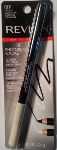 Revlon Photo Ready Kajal Intense Eye Liner & Brightener, Carbon Cleopatra, 0.08 oz