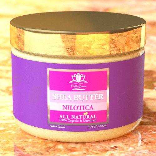 Premium Nilotica Shea Butter by PelleSana – Rare, Only for Those Who Want and Deserve the Best! 6 oz. Luxury Organic Shea Butter from Uganda, East Africa – Intense Moisturizer – Softer, Creamier, Higher Absorption Rate, and More Healing Properties Than West African. Now Available in 3 Scents! Lavender Reviews