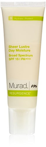 Murad Resurgence Sheer Lustre Day Moisture, SPF 15, 3: Hydrate/Protect, 1.7 fl oz (50 ml) Reviews
