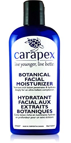 Face Cream Hydrating, Moisturizing, Carapex Botanical Facial Moisturizer, Natural, Unscented for Sensitive Skin, Dry Skin, Combination Skin, Oily Skin, with Hyaluronic Acid, Vitamin E, Day and Night Moisturizer, Anti Age, Face Plumping Cream with Shea Butter, Aloe Vera, Olive Oil, Sweet Almond Oil, Avocado Oil, 4oz