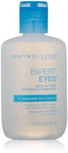Maybelline New York Expert Eyes 100% Oil-Free Eye Makeup Remover, 2.3 Fl. Oz. Reviews