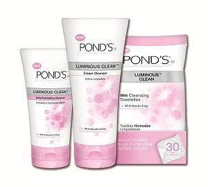 Pond's Luminous Skincare.