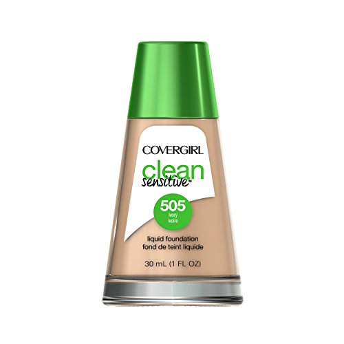 Covergirl Clean Sensitive Skin Liquid Foundation Ivory 1