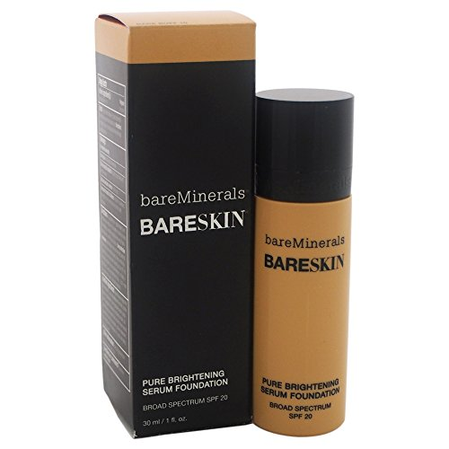 bareMinerals Pure Brightening Serum SPF 20 All Skin Types Bare Buff 10 Foundation for Women, 1 Ounce Reviews