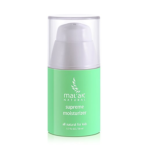 Mal'ak Best Natural Daily Face Moisturizer Cream for Sensitive, Oily or Dry Skin, 1.7 FL Ounce/50 ml