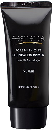 Aesthetica Pore Minimizing Foundation Primer – Moisturizing Lightweight Face Makeup Primer – Oil Free – 1.76 fl oz