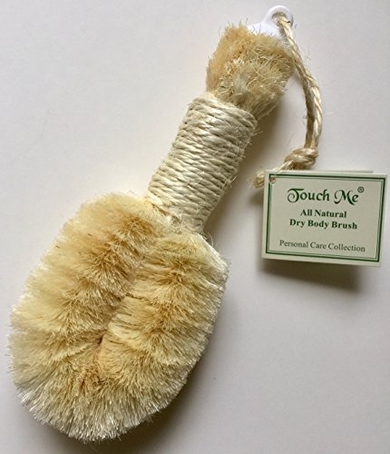 Touch Me All Natural Spa Dry Skin Brush- Premium Quality -10″ Length