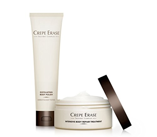 Crepe Erase – Trial Size Body Duo – Nourishing and Hydrating System with TruFirm Complex – Intensive Body Repair Treatment and Exfoliating Body Polish – CS.2004