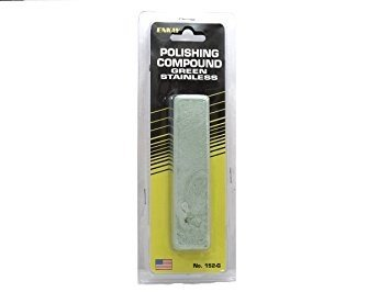 6 oz USA Green Rouge Polishing Buffing Compound – Steel, Aluminum, Chrome