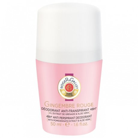 Roger & Gallet Gingembre Rouge 48H Anti Perspirant Deodorant Roll On, 1.6 Ounce