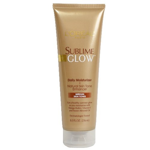 L'Oreal Paris Sublime Glow Daily Body Moisturizer and Natural Skin Tone Enhancer, Medium, 8 oz. (Pack of 3) Reviews