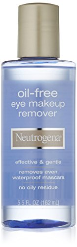 Neutrogena Cleansing Oil-Free Eye Makeup Remover, 5.5 Ounce (Pack of 3) Reviews