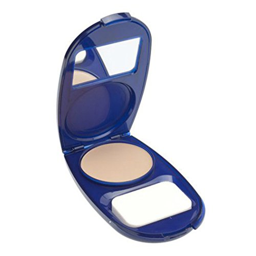 CoverGirl Aquasmooth SPF 20 Compact Foundation, 710 Classic Ivory, 0.4 Ounce