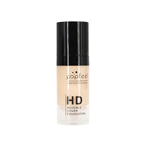 XEDUO POPFEEL Face Makeup Moisturizing Liquid Foundation Tulle Foundation Waterproof Concealer BB Cream for women girls (01#)