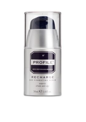 Profile RECHARGE Age Combating Serum – Men's Skin Care – Anti Aging Serum for Men, with Antioxidants and Peptides, Face and Eye, Soothing and Protecting, Collagen Booster, Wrinkle Reducing, 1.6 fl oz Reviews