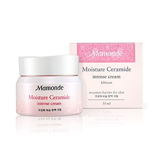 MAMONDE Moisture Ceramide Intense cream 50ml + SoltreeBundle Natural Hemp Paper 50pcs