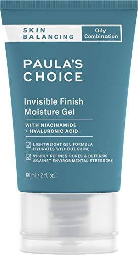 Paula's Choice SKIN BALANCING Invisible Finish Moisture Gel Moisturizer, 2 Ounce Tube with Antioxidants and Niacinamide, Face Moisturizer for Oily Skin