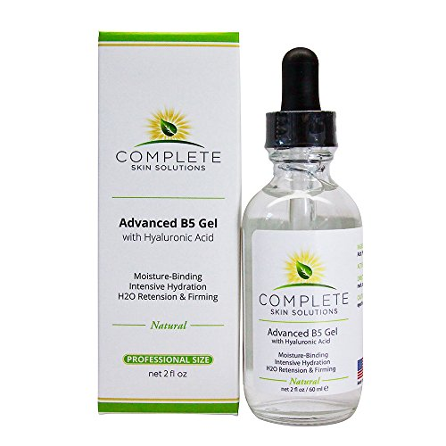 Advanced B5 Hydrating Gel With Hyaluronic Acid-2 oz Moisturizing & Hydrating Face Serum For Skin Rejuvenation-Nutritious Natural Formula With Firming, Plumping & Healing Properties